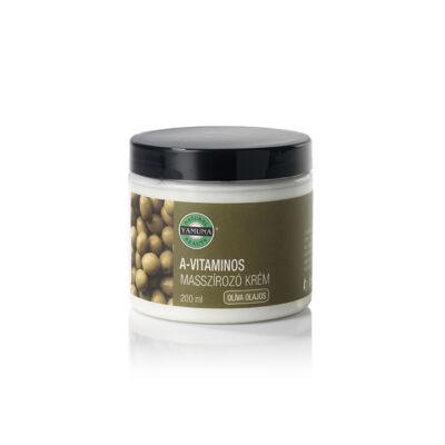 A-vitaminos, olívaolajos masszírozó krém