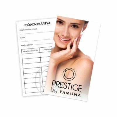 Kozmetikai vendég emlékeztető kártya